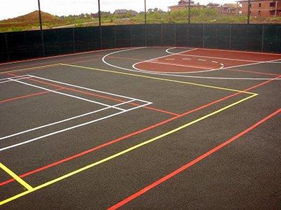1 - Резиновые покрытия для спортивных площадок