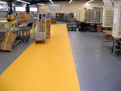 3 - Резиновые покрытия для производственного цеха