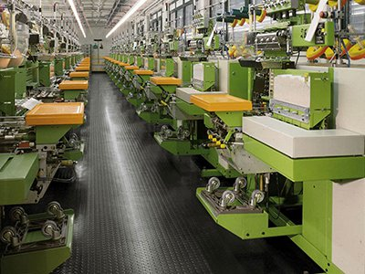 1 - Резиновые покрытия для производственного цеха