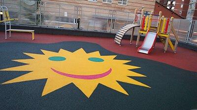 2 - Резиновые покрытия для детских площадок
