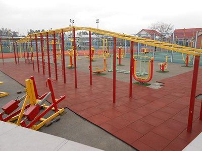 2 - Резиновые покрытия для спортивных площадок