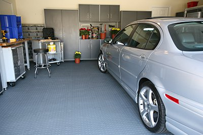 3 - Резиновая плитка для гаража