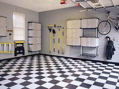 1 - Резиновая плитка для гаража