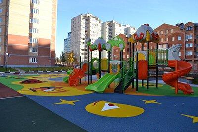 1 - Резиновые покрытия для детских площадок